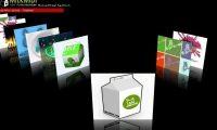 Flash10新增3D效果來製作Coverflow效果