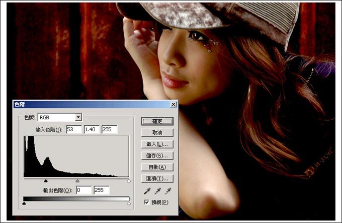 Photoshop 後製修圖  - Photoshop 修圖練習 - 高對比 - 紅色調 - 319_2_104