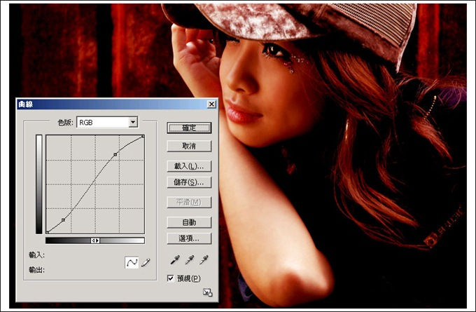 Photoshop 後製修圖  - Photoshop 修圖練習 - 高對比 - 紅色調 - 319_4_186