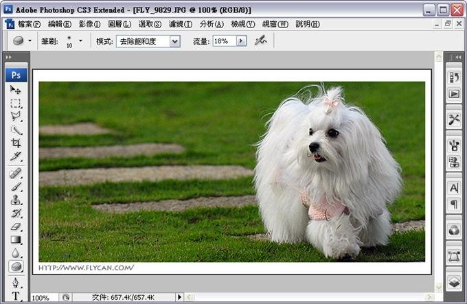 Photoshop 後製修圖  - Photoshop 教學 - 海棉工具 - 修掉髒髒泛黃的色彩 - color_01_868