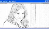 將普通的照片轉換成鉛筆素描畫