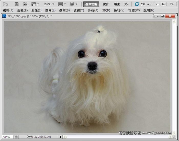 Photoshop 後製修圖  - Photoshop 教學 - 校正色彩 - 仿自動白平衡 - 速成篇 - fly04_thumb