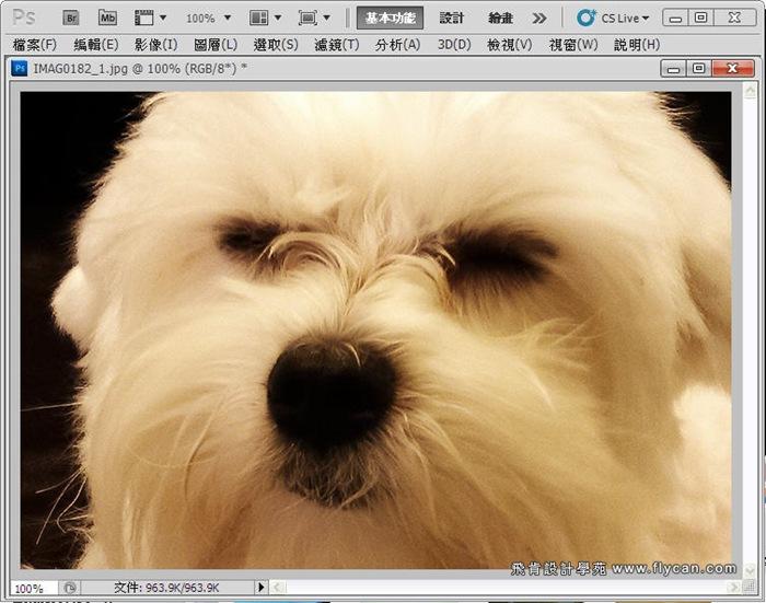 Photoshop 後製修圖  - Photoshop 教學 - 校正色彩 - 仿自動白平衡 - 速成篇 - fly11_thumb