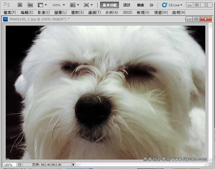 Photoshop 後製修圖  - Photoshop 教學 - 校正色彩 - 仿自動白平衡 - 速成篇 - fly12_thumb