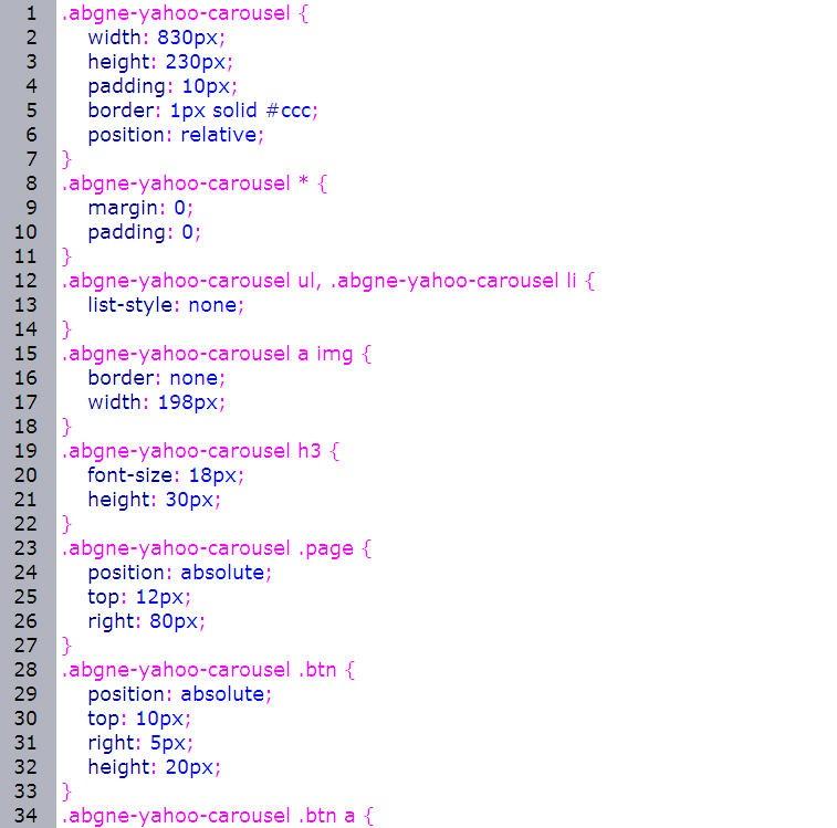 JavaScript 程式設計  - jQuery 教學 - 動態廣告輪播  - 仿 Yahoo 切換式 N 格圖片廣告 - fly02_thumb