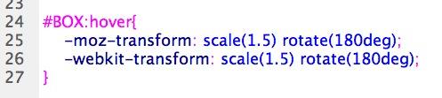 CSS 語法 - 網頁設計  - CSS3 Transform 變形效果 - 2D 篇 - 02