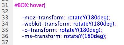 CSS 語法 - 網頁設計  - CSS3 Transform 變形效果 - 3D 篇 - 021