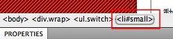 Dreamweaver 網頁設計  - Dreamweaver 行為 - 互動式更改文字大小 - 062