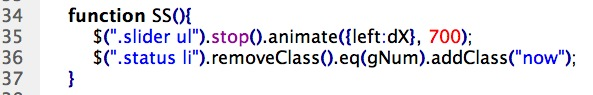 CSS 語法 - 網頁設計  - Javascript & jQuery - 滑動廣告篇 - 10