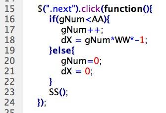 CSS 語法 - 網頁設計  - Javascript & jQuery - 滑動廣告篇 - 11