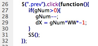 CSS 語法 - 網頁設計  - Javascript & jQuery - 滑動廣告篇 - 12