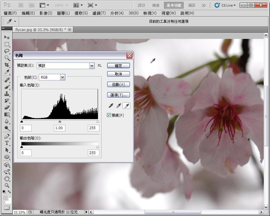Photoshop 後製修圖  - 【 Photoshop 後製修圖教學】 拍好櫻花的後製技巧 - fly-1-2