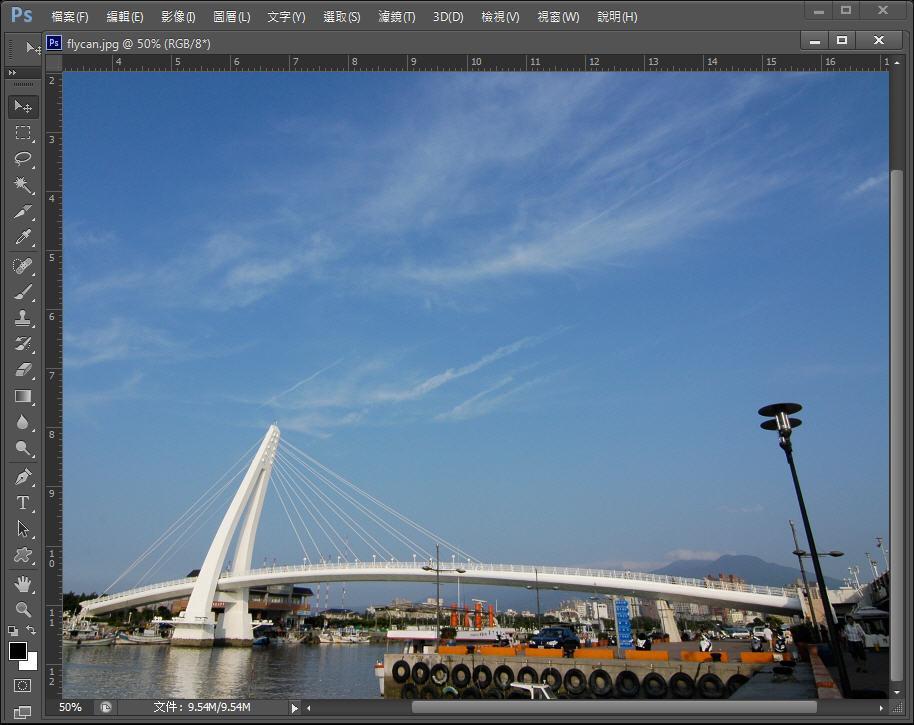 Photoshop 後製修圖  - 【 Photoshop 後製修圖教學】 圖層混色模式 - 如何修出飽和漂亮的天空藍 - flycan-0