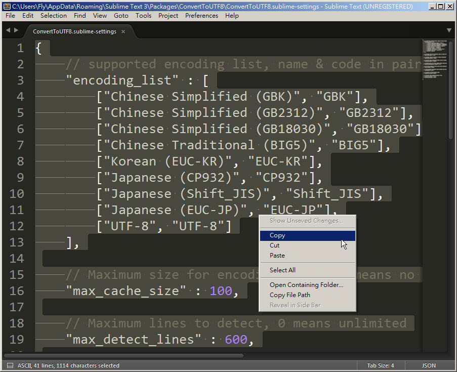 Free Resource 好康報報  - 教學:淺談 Sublime Text 的安裝設定及入門操作 – [ 下篇 ] - Sub-17_2