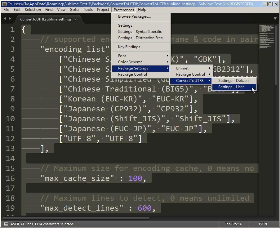 Free Resource 好康報報  - 教學:淺談 Sublime Text 的安裝設定及入門操作 – [ 下篇 ] - Sub-17_3