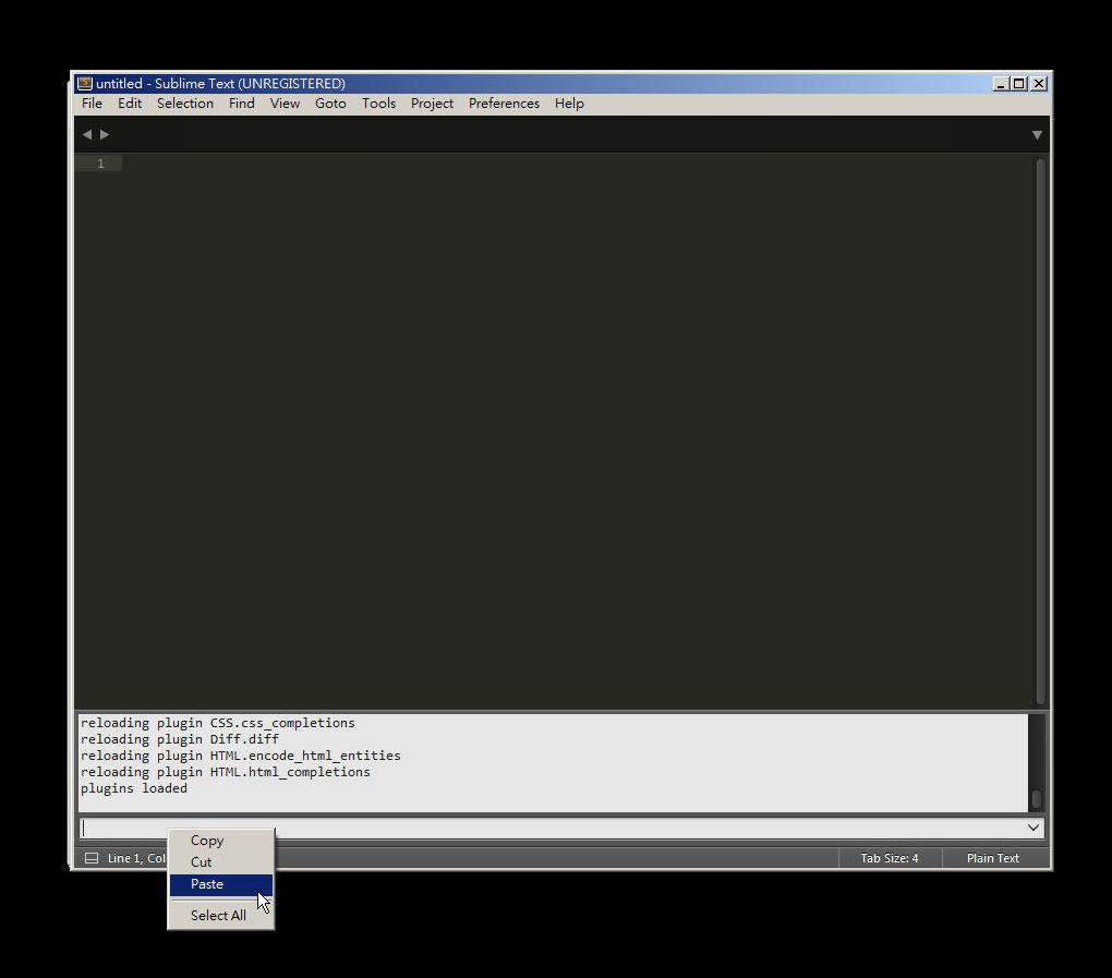 Free Resource 好康報報  - 教學:淺談 Sublime Text 的安裝設定及入門操作 - [ 上篇 ] - sub-09