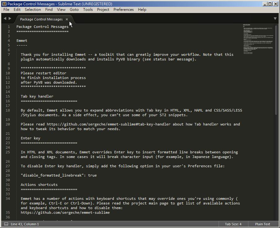 Free Resource 好康報報  - 教學:淺談 Sublime Text 的安裝設定及入門操作 – [ 下篇 ] - sub-16