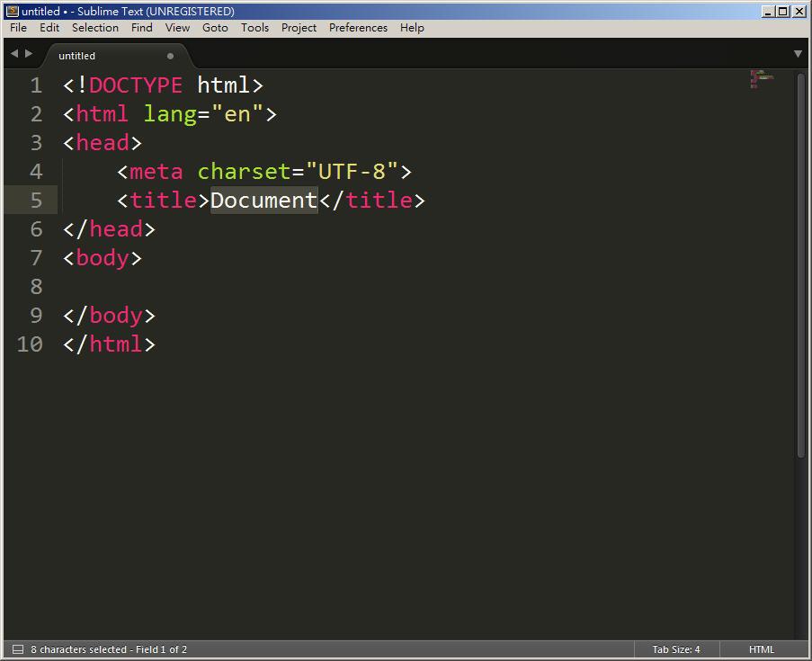 Free Resource 好康報報  - 教學:淺談 Sublime Text 的安裝設定及入門操作 – [ 下篇 ] - Sub-21