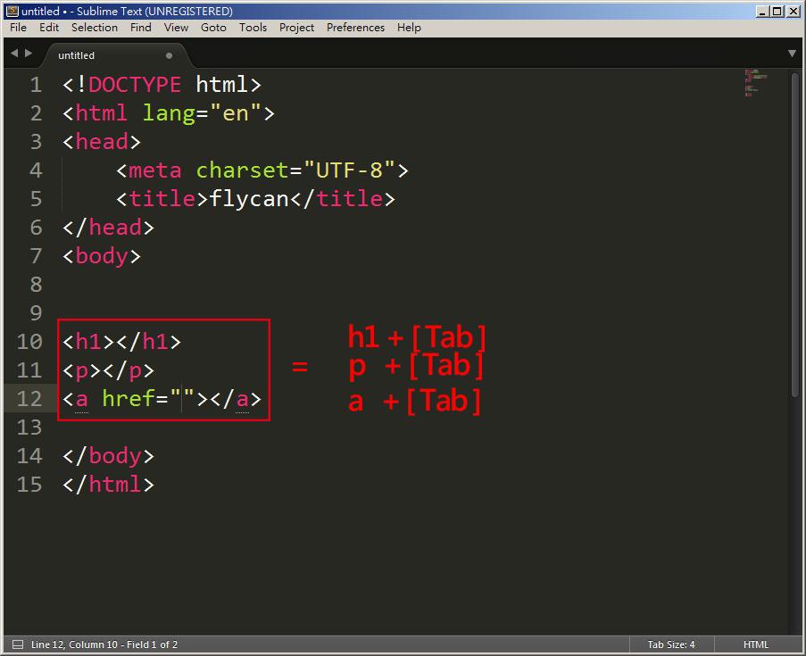 Free Resource 好康報報  - 教學:淺談 Sublime Text 的安裝設定及入門操作 – [ 下篇 ] - Sub-24