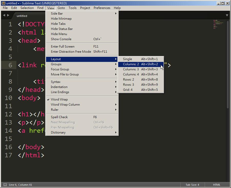 Free Resource 好康報報  - 教學:淺談 Sublime Text 的安裝設定及入門操作 – [ 下篇 ] - sub-28