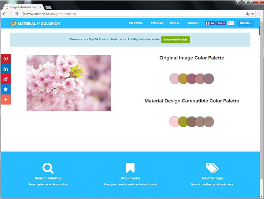 Free Resource 好康報報 Good Design 好站報報  - 【靈感來源】COLORION-尋找配色靈感的好幫手 - colorion-10