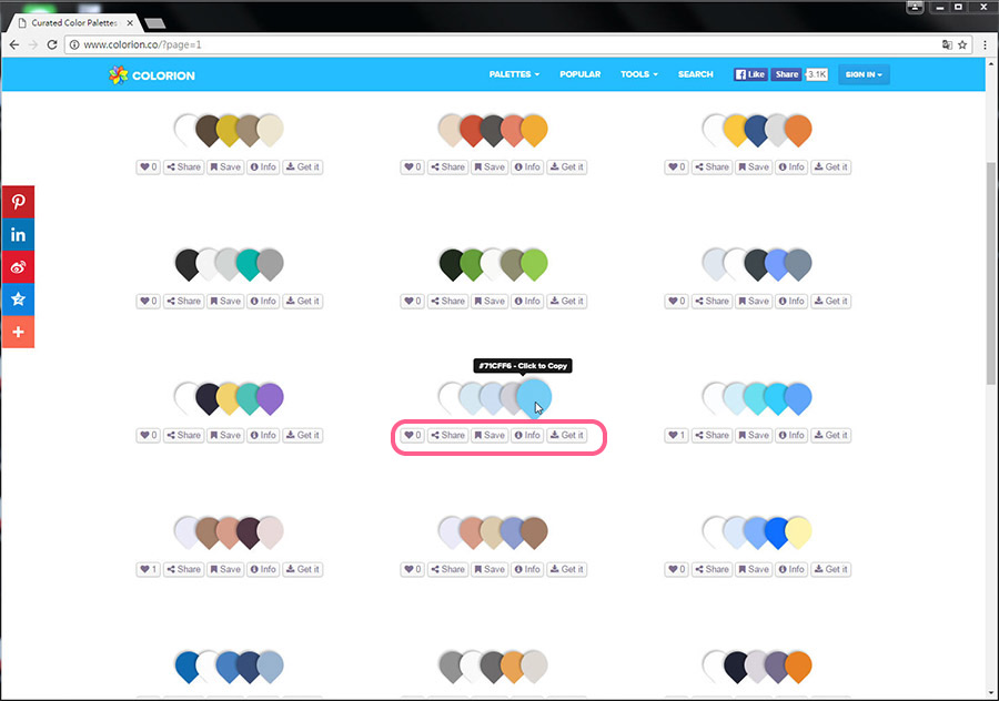 Free Resource 好康報報 Good Design 好站報報  - 【靈感來源】COLORION-尋找配色靈感的好幫手 - colorion-13