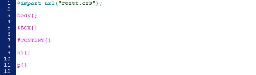 CSS 語法 - 網頁設計  - CSS教學分享文 - 固定背景圖之語法練習 - ok3