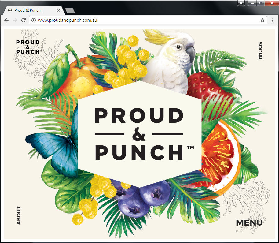 Good Design 好站報報  - 【好站欣賞】手繪風格優格冰淇淋網站欣賞! - proud-1