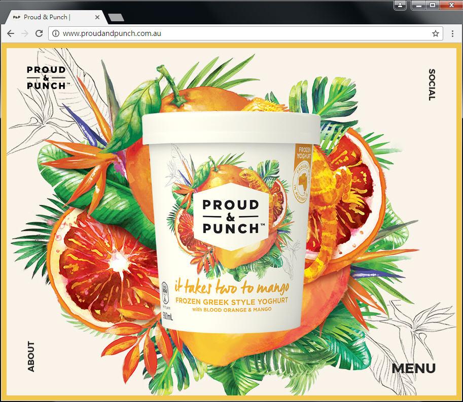 Good Design 好站報報  - 【好站欣賞】手繪風格優格冰淇淋網站欣賞! - proud-2