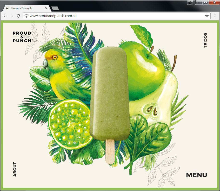 Good Design 好站報報  - 【好站欣賞】手繪風格優格冰淇淋網站欣賞! - proud-4