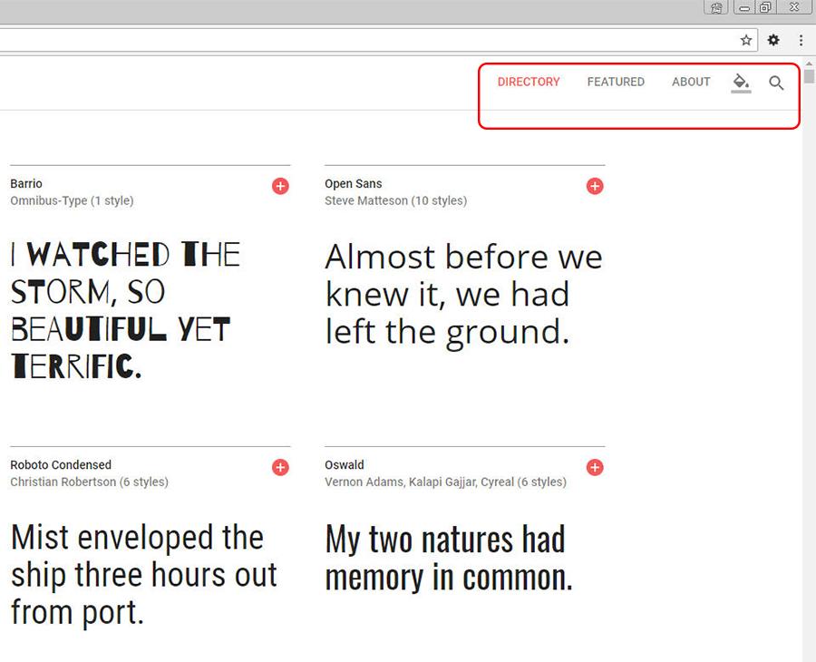 CSS 語法 - 網頁設計 Free Resource 好康報報 Good Design 好站報報  - 【設計資源】 - Google Fonts 免費雲端字庫-導覽篇 - 002