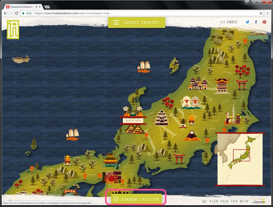 Good Design 好站報報  - 【好站欣賞】InsideAsia-有趣的地圖,一起來探索景點吧! - explore-13