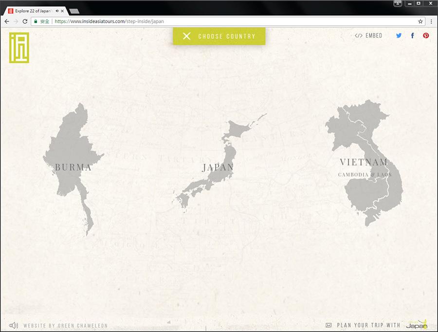 Good Design 好站報報  - 【好站欣賞】InsideAsia-有趣的地圖,一起來探索景點吧! - explore-6
