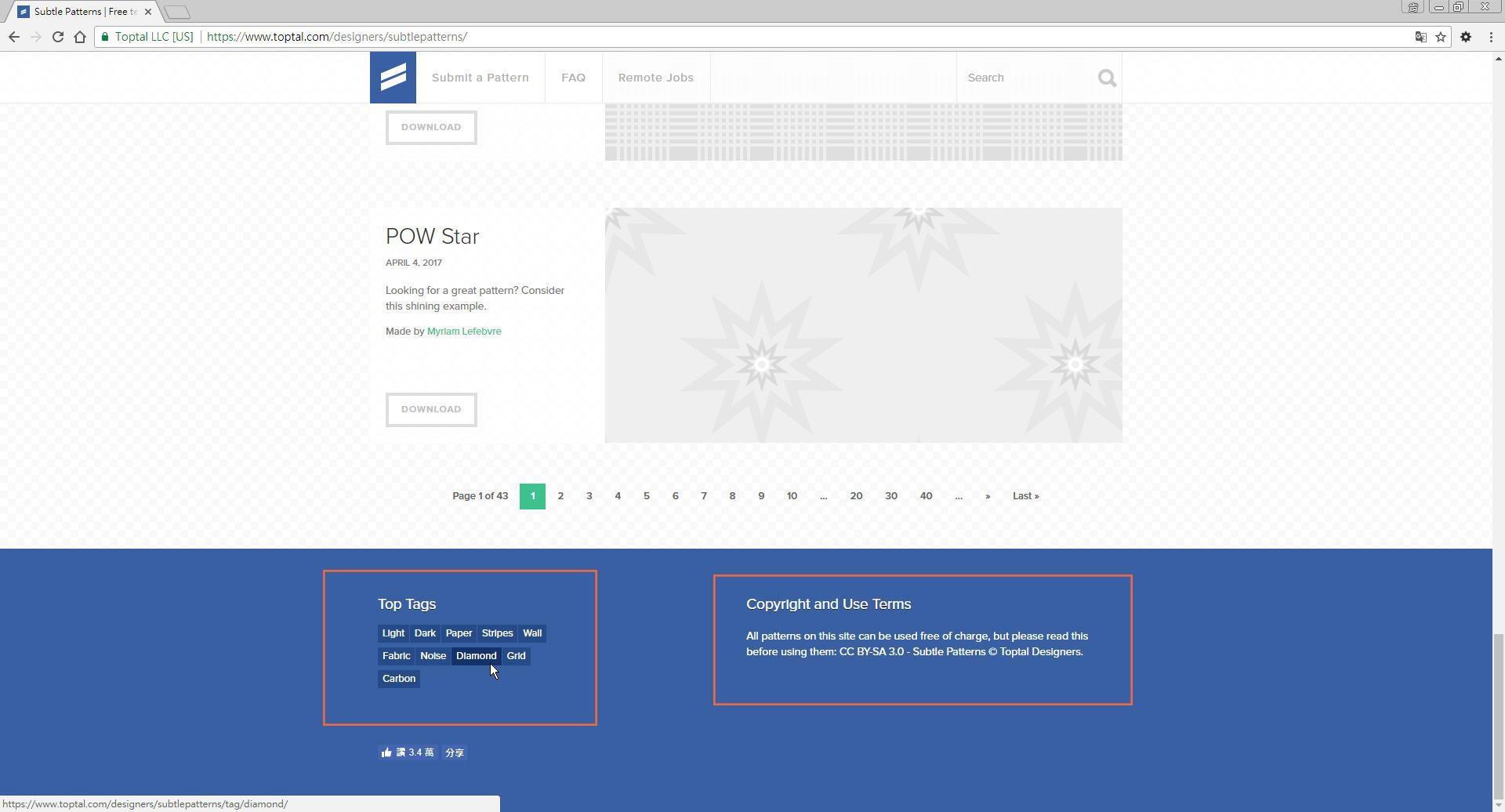 Free Resource 好康報報 Good Design 好站報報  - 【設計資源】Subtle Patterns - 免費下載之 pattern 素材網站 - p-10