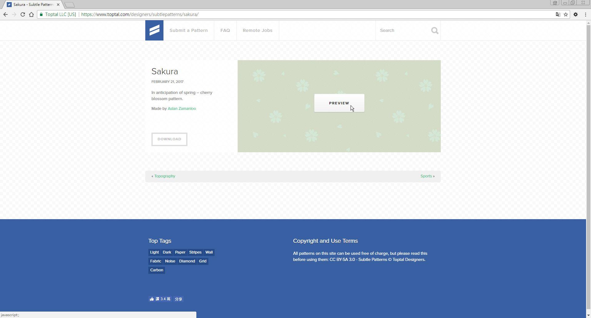 Free Resource 好康報報 Good Design 好站報報  - 【設計資源】Subtle Patterns - 免費下載之 pattern 素材網站 - p-6