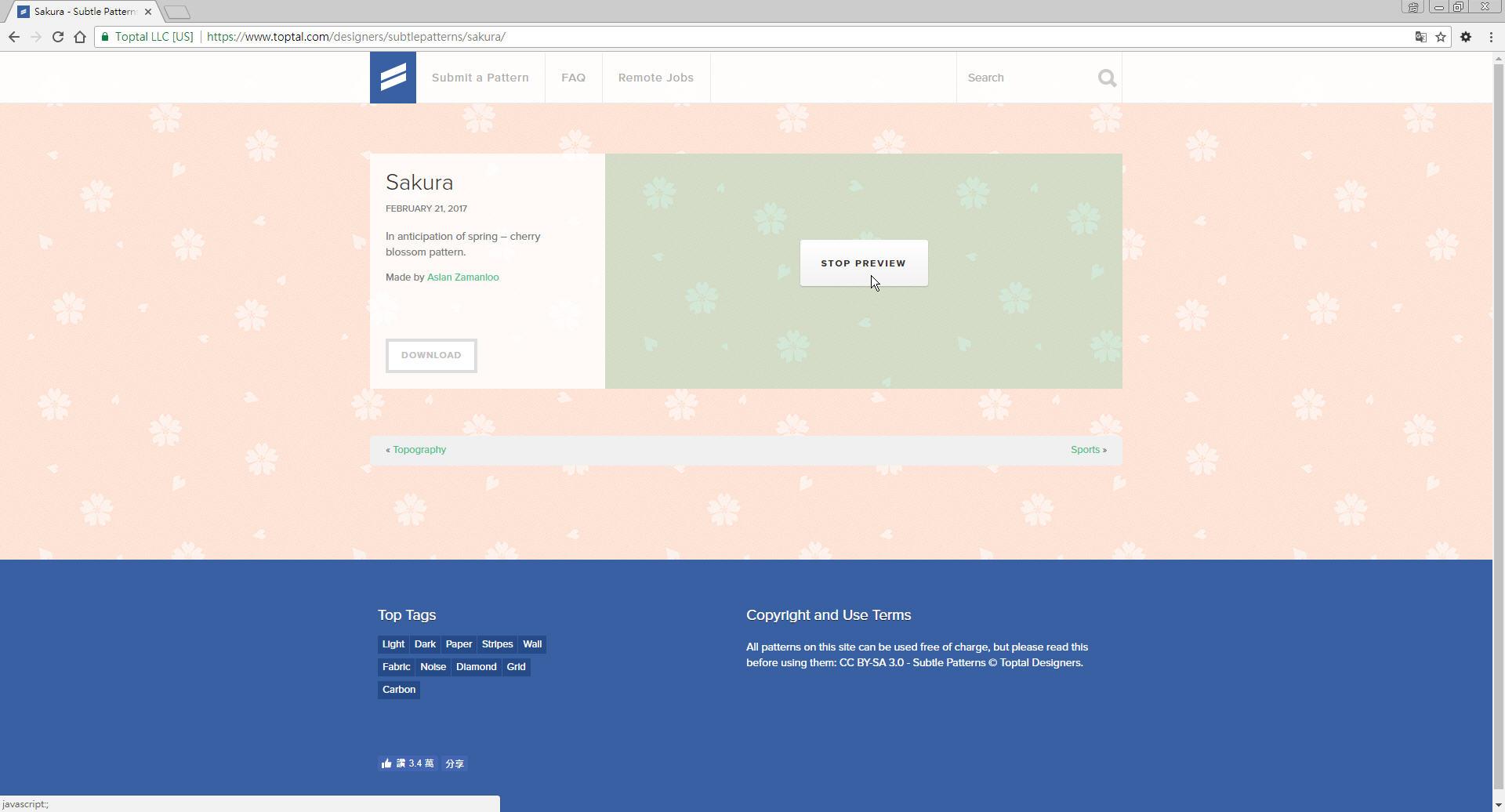 Free Resource 好康報報 Good Design 好站報報  - 【設計資源】Subtle Patterns - 免費下載之 pattern 素材網站 - p-7