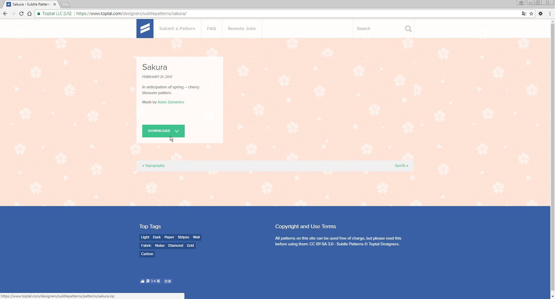 Free Resource 好康報報 Good Design 好站報報  - 【設計資源】Subtle Patterns - 免費下載之 pattern 素材網站 - p-8