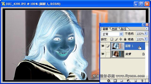 Photoshop 影像設計 Photoshop 後製修圖  - Photoshop 將普通的照片轉換成很逼真的鉛筆素描畫 - snag_02_346