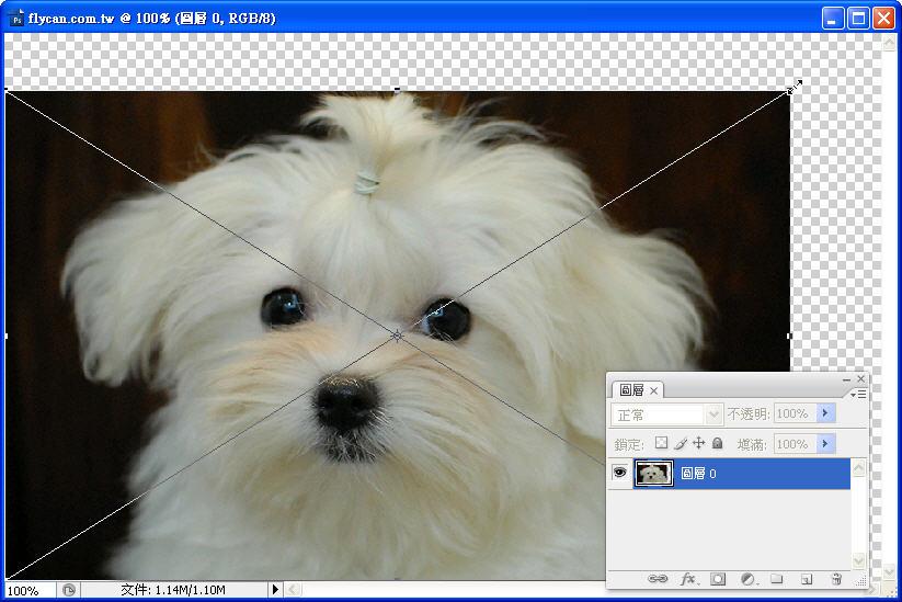 Photoshop 影像設計  - 初探 Photoshop 智慧型物件 - 圖片連續縮放 - 不失真 - 1_4996874d6f61b